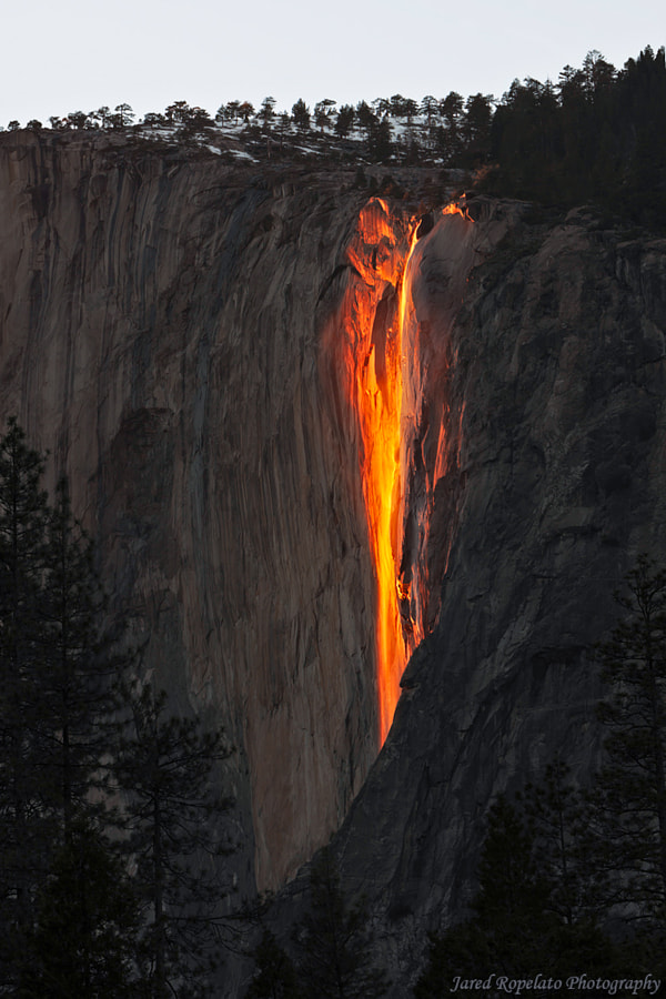 Fire Falling by jared ropelato on 500px.com
