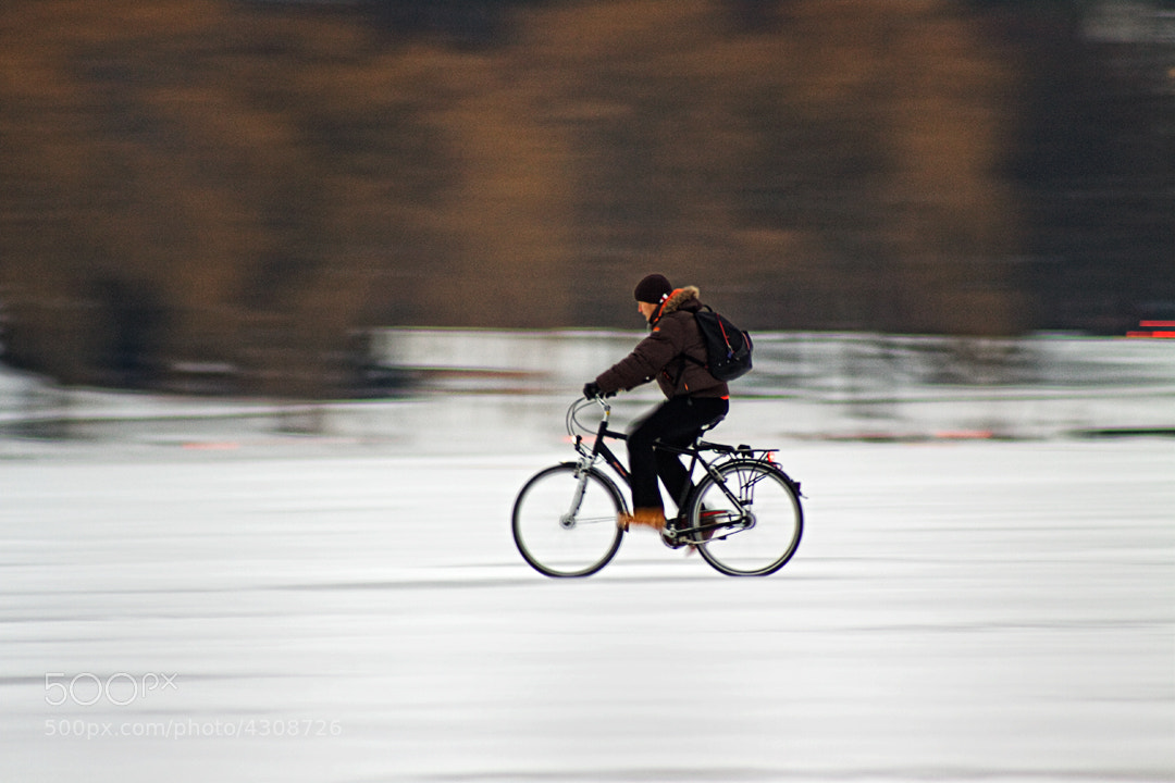 Photograph ice rider by Orvis St. John on 500px