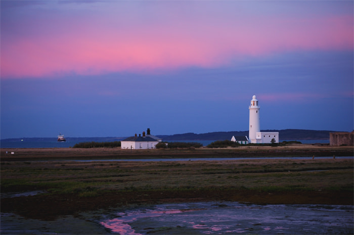 Photograph Lighthouse at dusk by Andréa Pacca on 500px