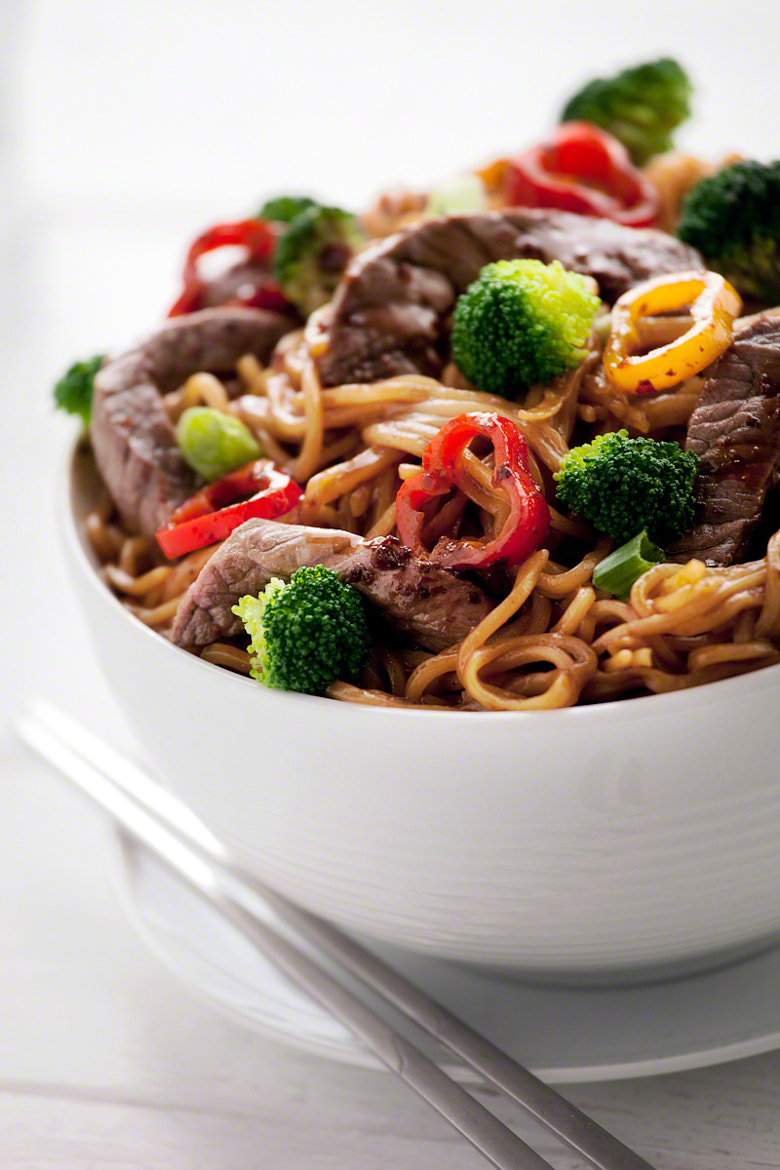 Photograph Beef Stir Fry by Nicole S. Young on 500px