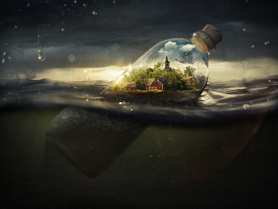 Photograph Drifting Away by Erik Johansson on 500px