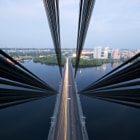 Постер, плакат: The cable stayed bridge