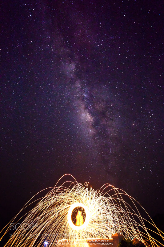 Photograph Stunning of Milky Way and Steel Wool! by Mardy Suong Photography on 500px