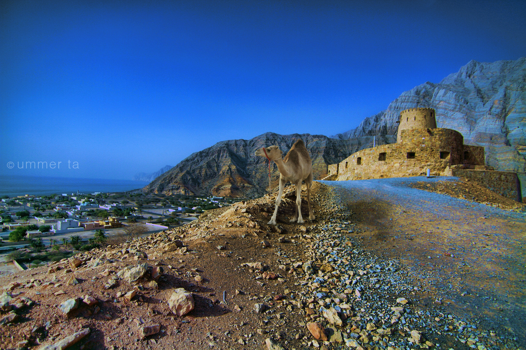 Photograph Bukha Fort - Musandam by Artist Ummer Ta  on 500px