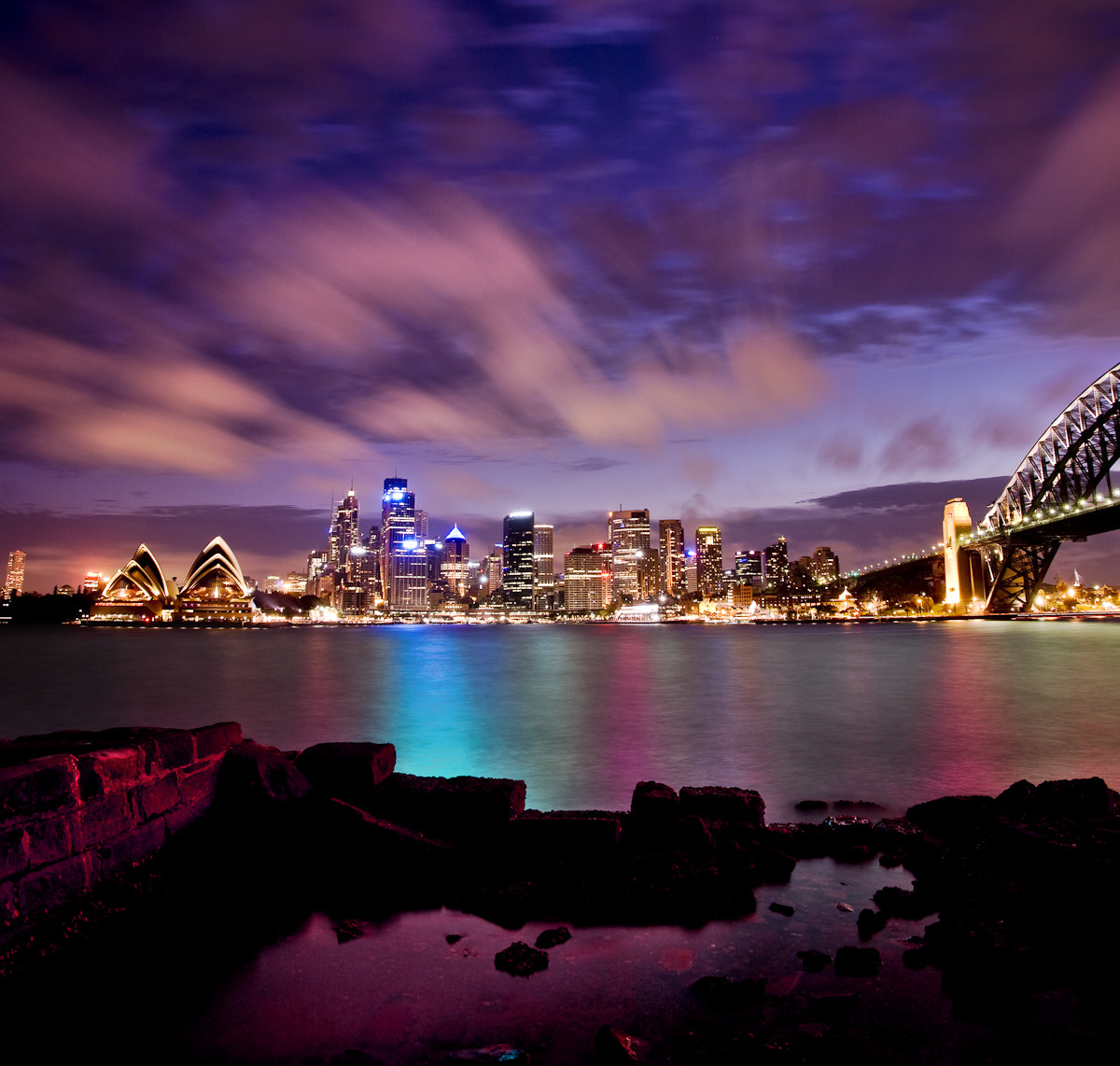Photograph Sparkling harbour by Nathan Kaso on 500px