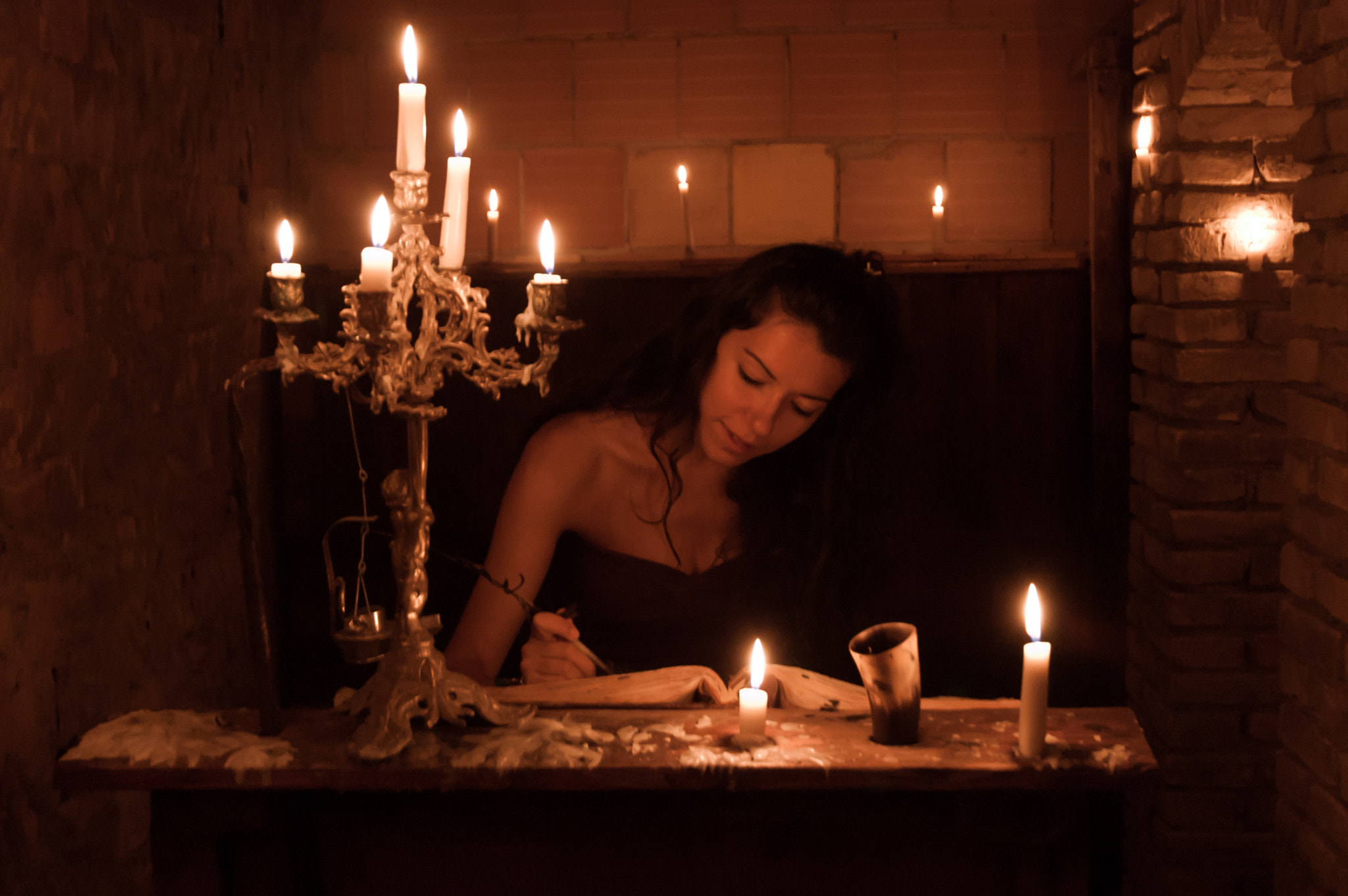 Photograph Candlelight Fantasia by Andrea Mazzocchetti on 500px