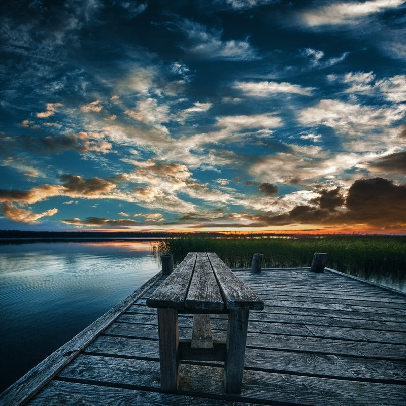 "Photograph ""Summernight blues"" by Janne Olkkonen on 500px"