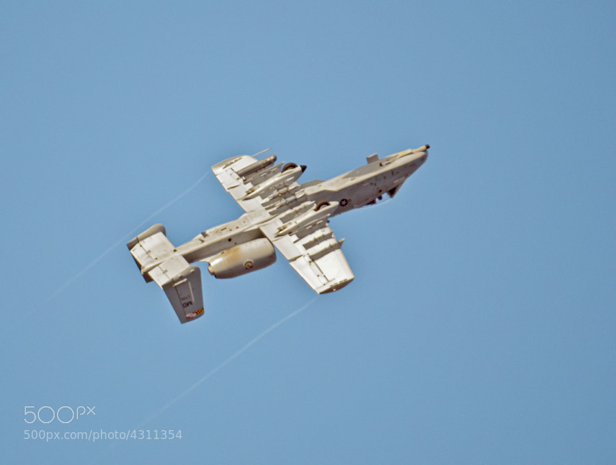 Photograph A-10 Warthog by Steven Kersting on 500px