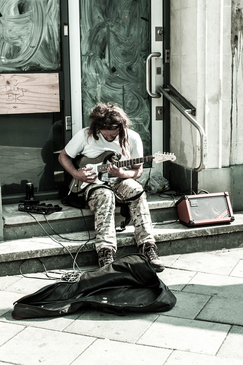 Photograph Bristol Busker by Naomi Turner on 500px
