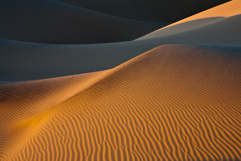 Photograph Mesquite Dunes - Death Valley by Lukas Wenger on 500px