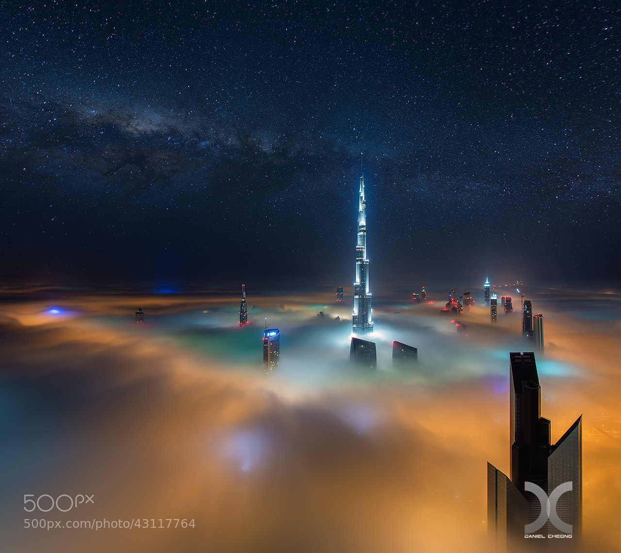 Photograph Dubai Galactica by Daniel Cheong on 500px