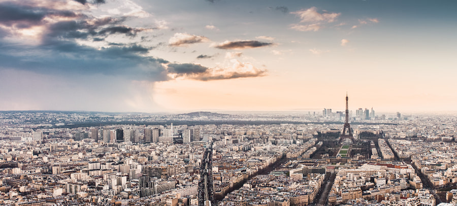 Photograph A Storm in Paris by Philipp Götze on 500px