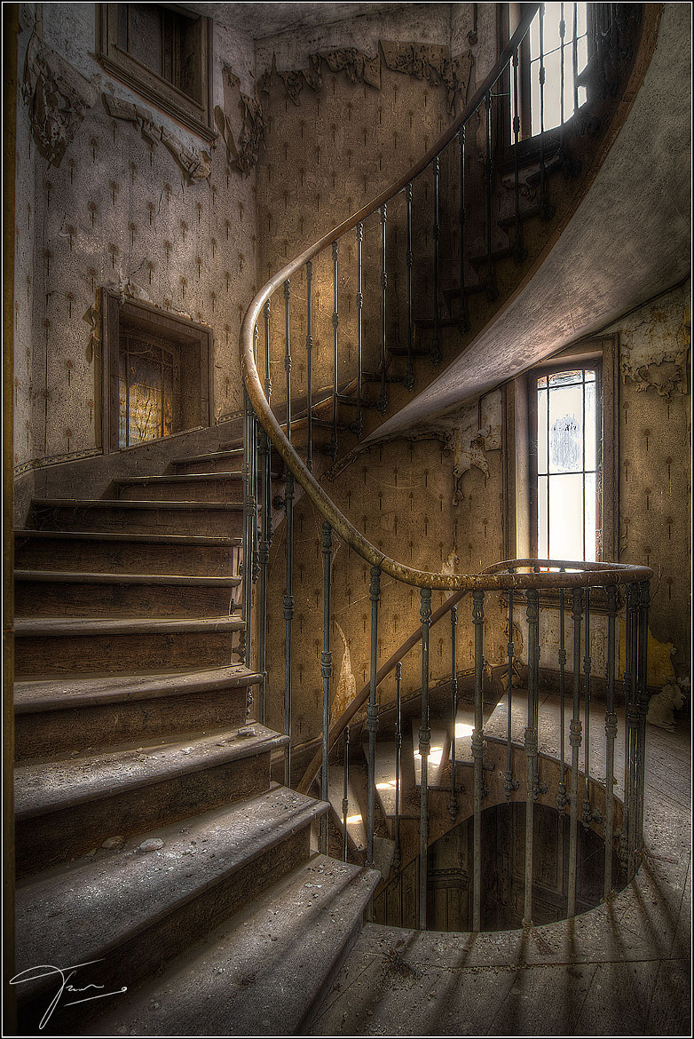 Photograph The Stairs by Truus Nijland on 500px