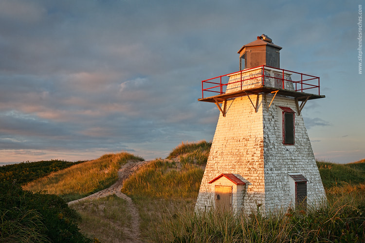 Photograph Abandoned Lighthouse by Stephen DesRoches on 500px