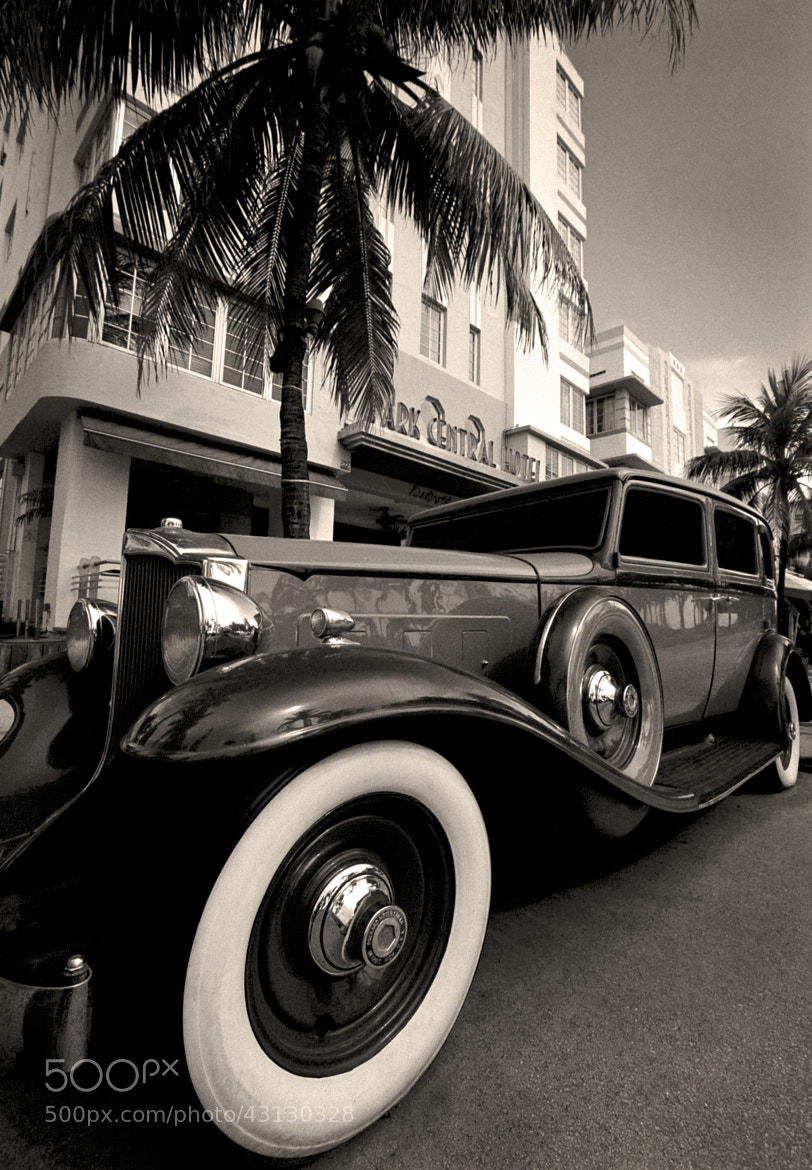 Photograph 1932 Packard 443 Limo - Miami Beach, Florida by Andy Moine on 500px