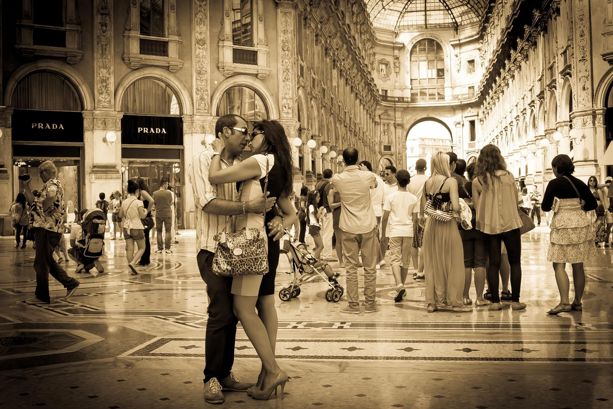 Photograph The sepia kiss by Barbara Silbe on 500px