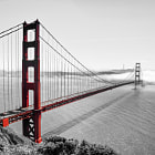 Постер, плакат: The Golden Gate Bridge