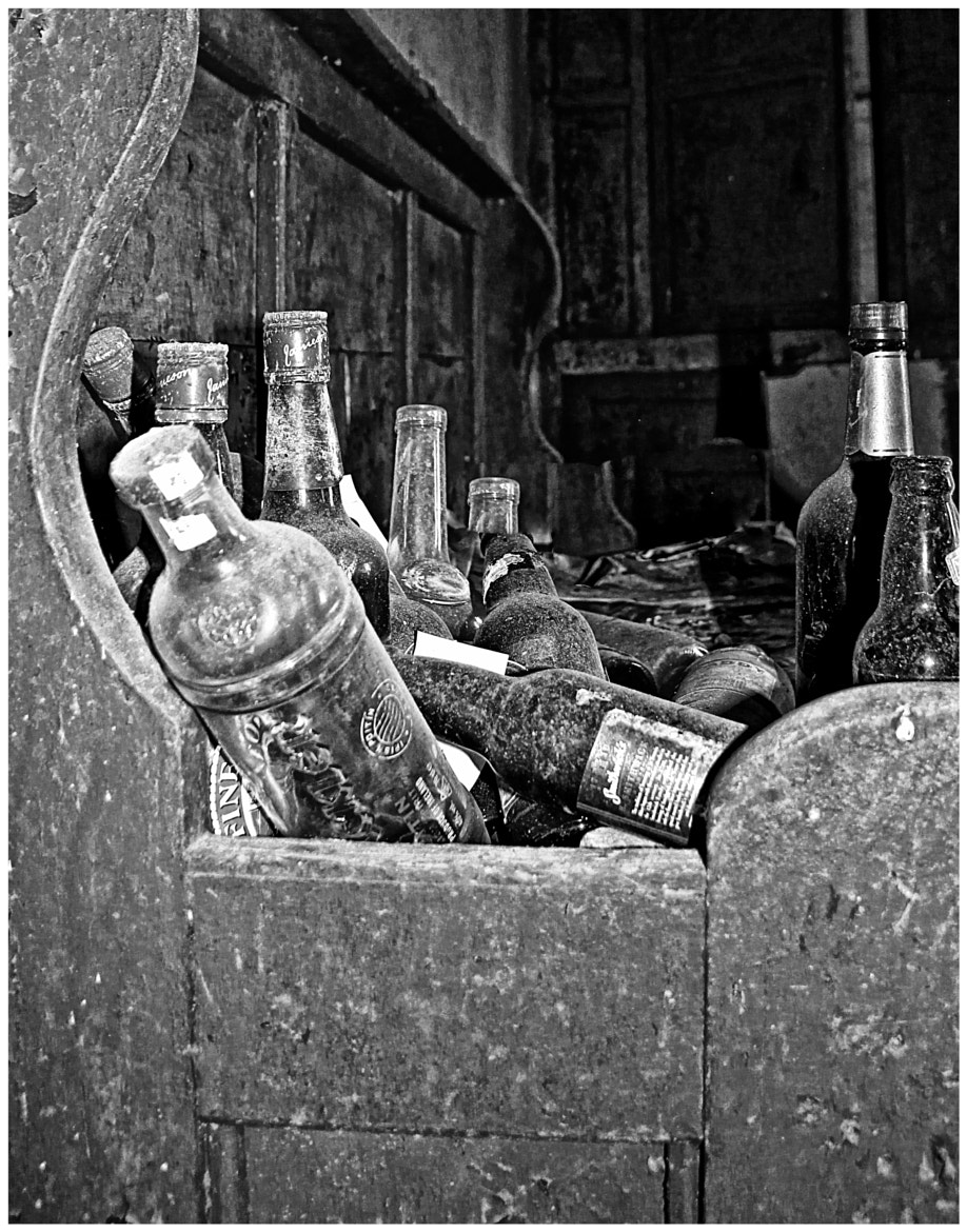 Photograph Dusty old bottles! by Anne Costello on 500px