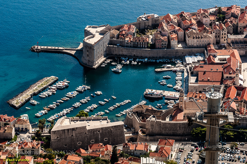 Photograph view to Dubrovnik, old town by Zsolt Varanka on 500px