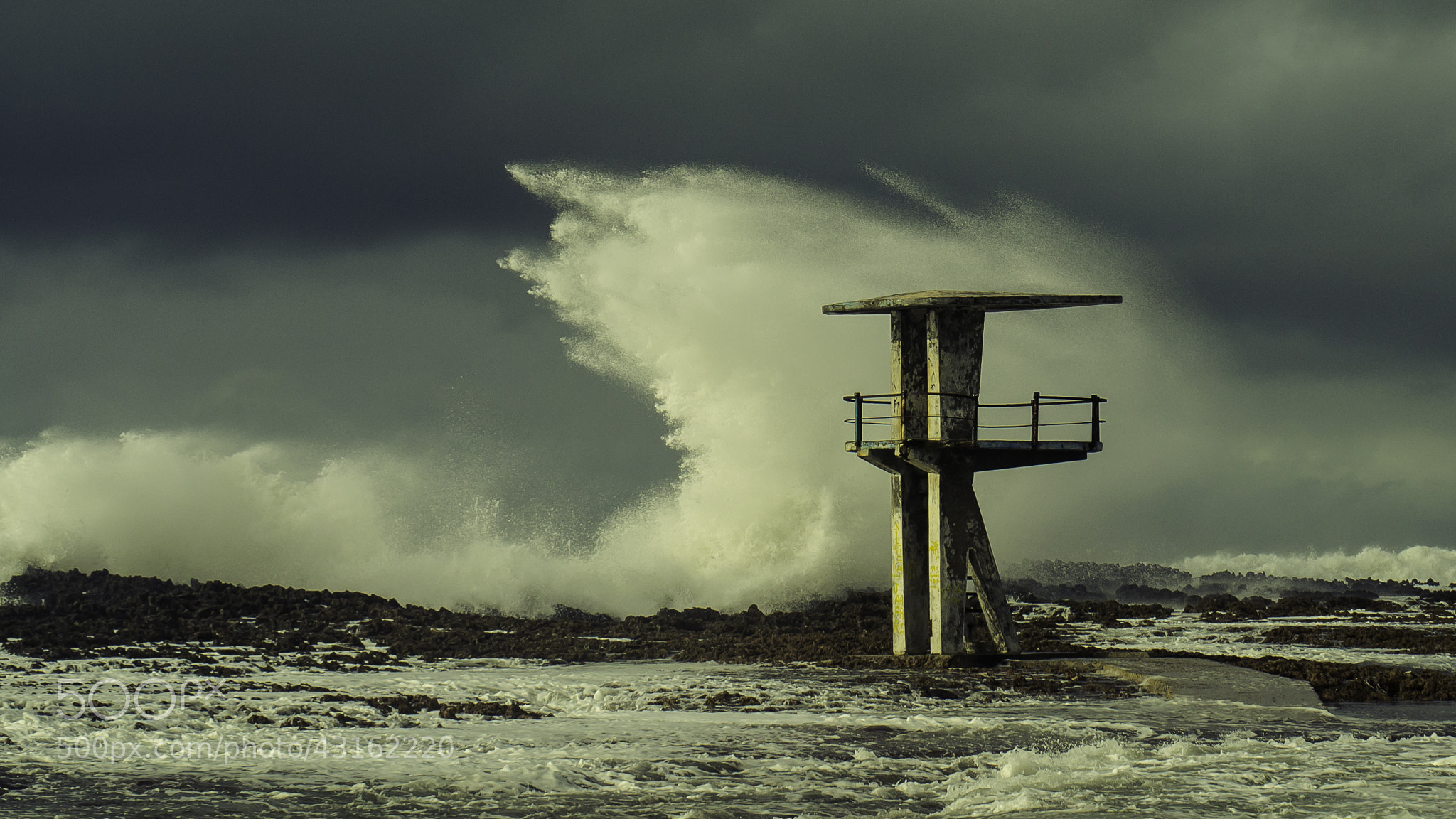 Photograph .... The october storm at Temara beach - 2 by Amine Fassi on 500px