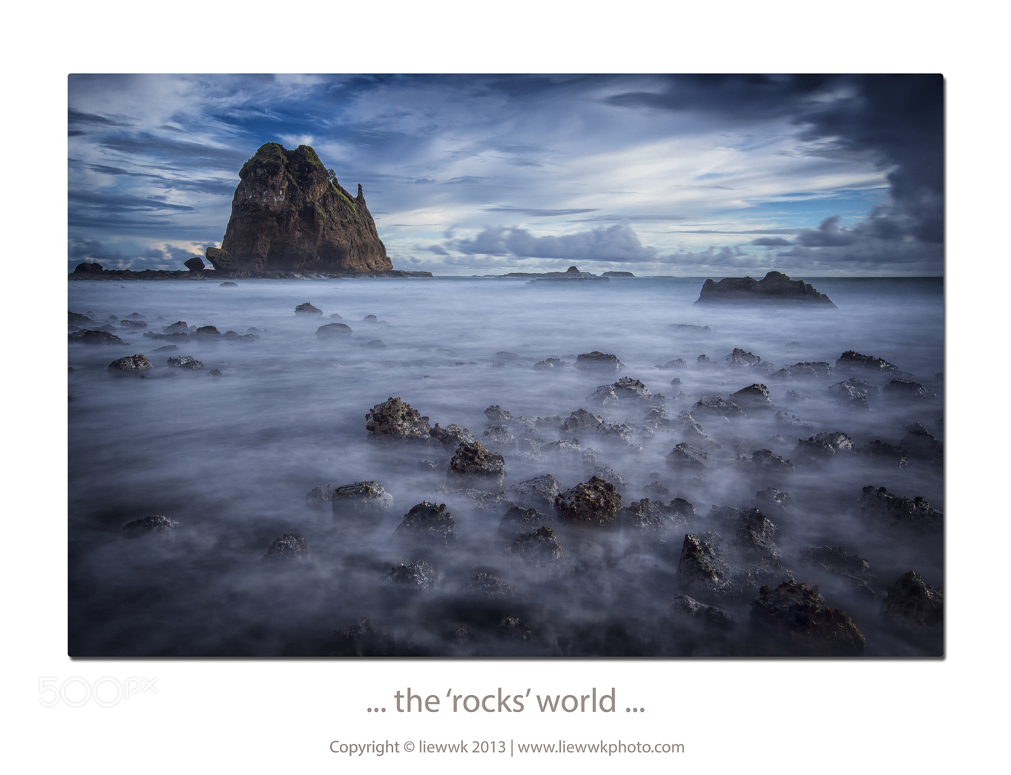 Photograph ... the 'rocks' world ... by Liew Wk on 500px