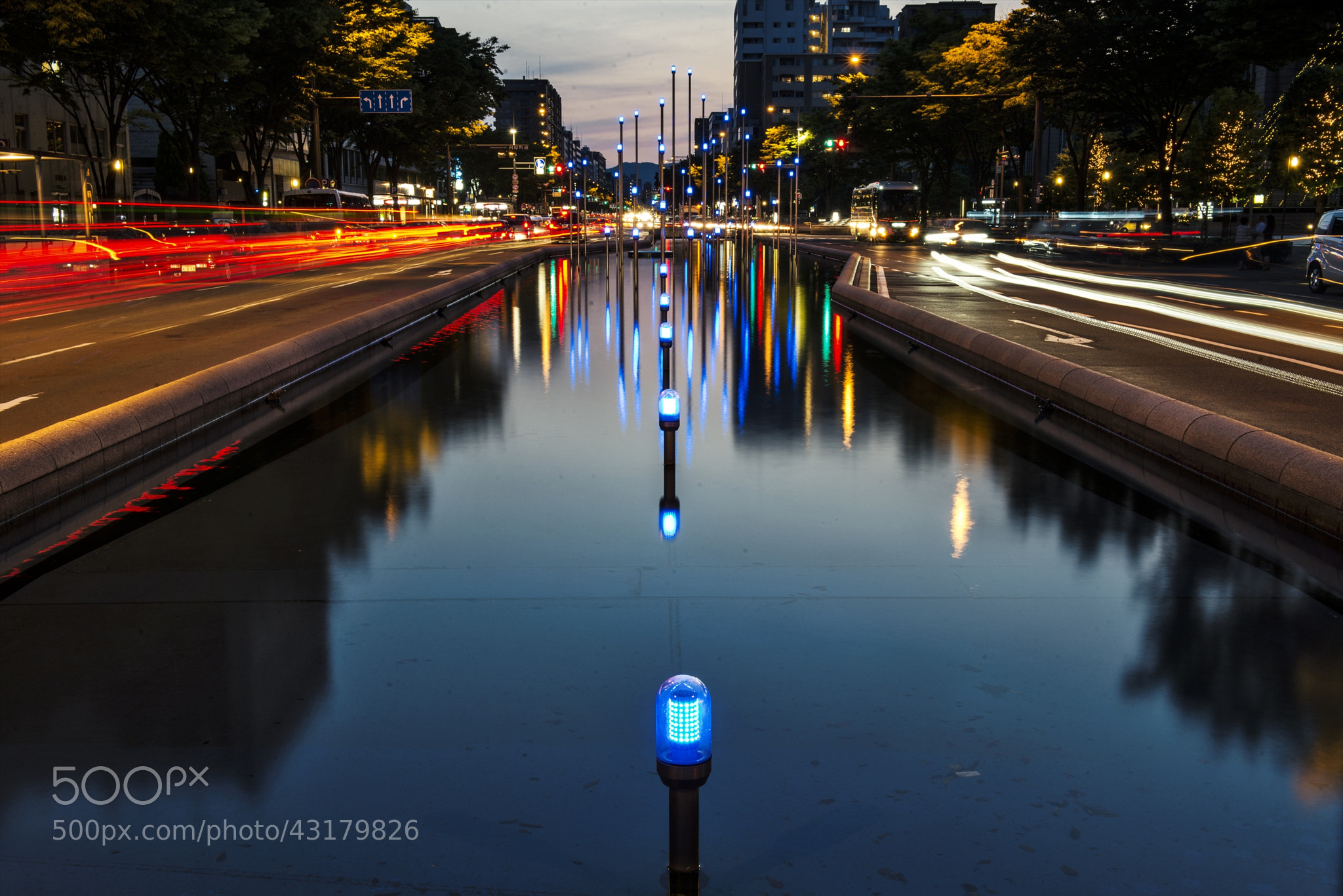Photograph Reflection in the Lights by hugh dornan on 500px