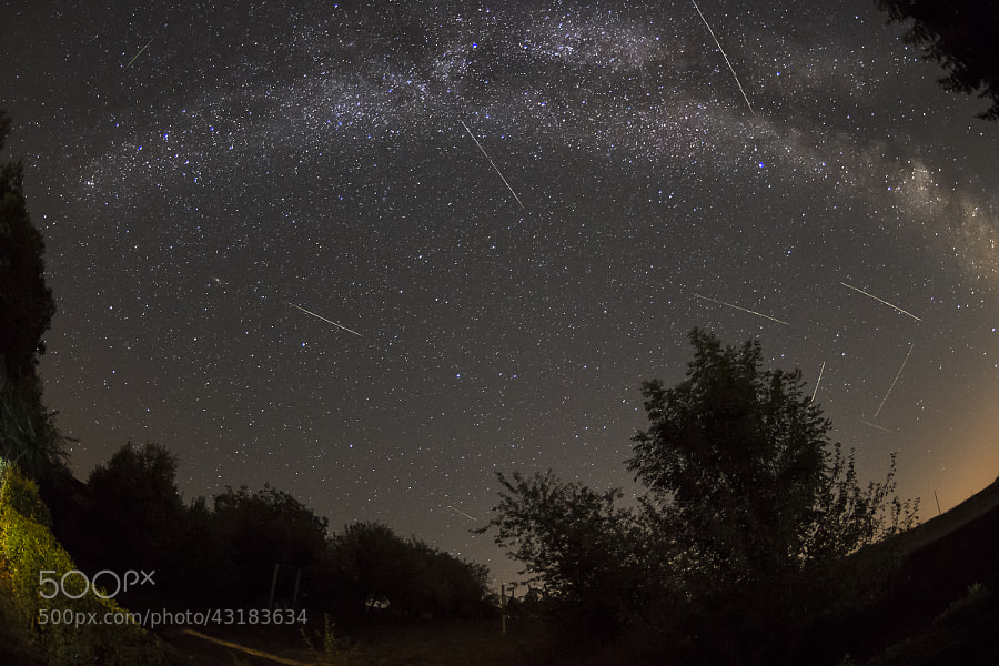 Photograph Meteor shower by Luka Veren on 500px