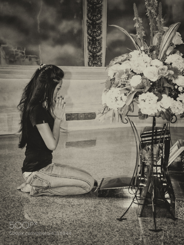 Photograph Praying by Trond Pedersen on 500px