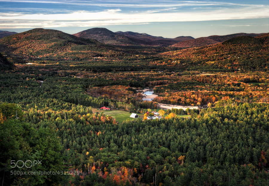Photograph Fall Countryside by Len Saltiel on 500px