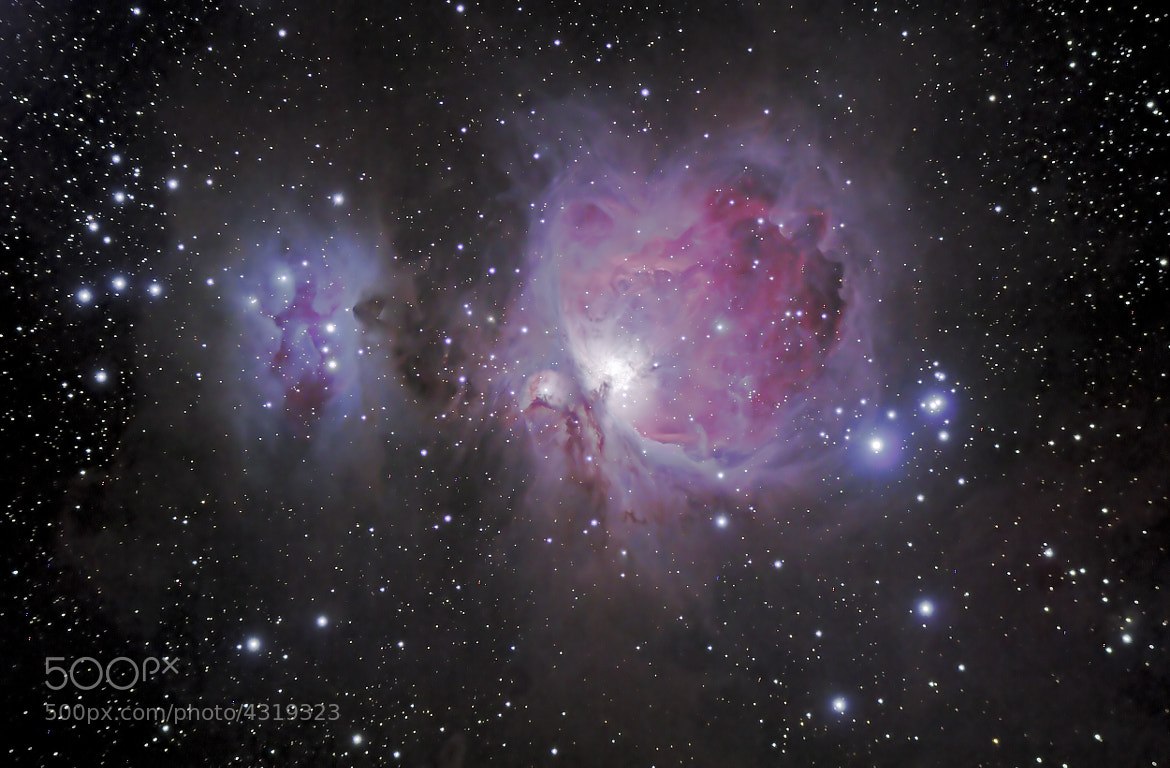 Photograph The Great Orion Nebula M42 by Timm Kasper on 500px