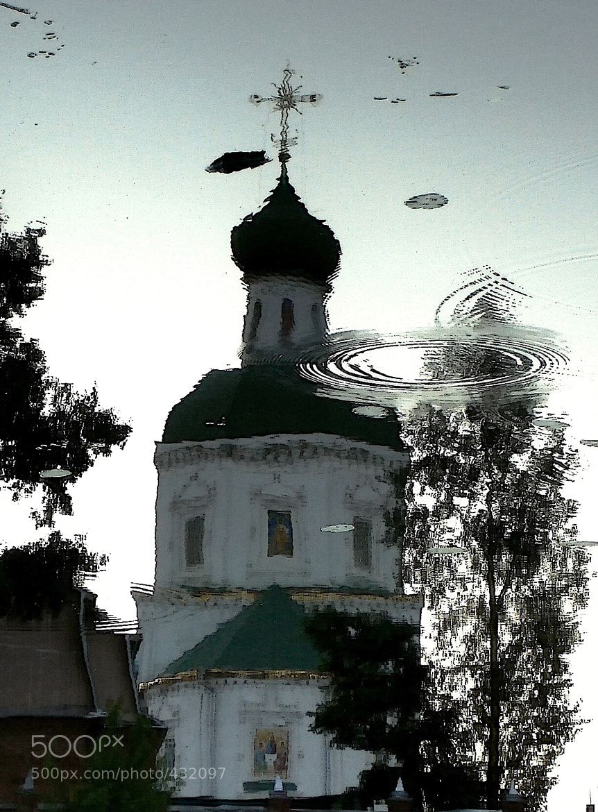 Photograph Phantom of the church (reflection in the water) by Milarepa Records on 500px