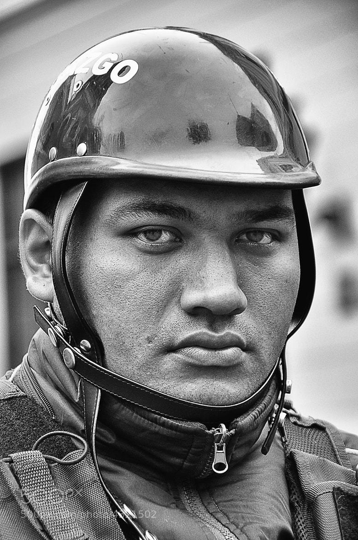 Photograph Strict Policeman by Csilla Zelko on 500px