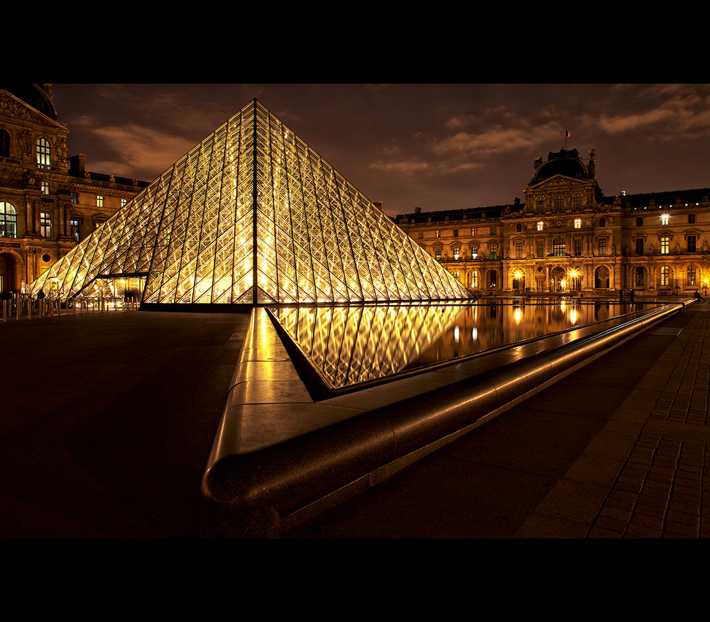 Photograph Le Louvre... by night by Cal Redback on 500px