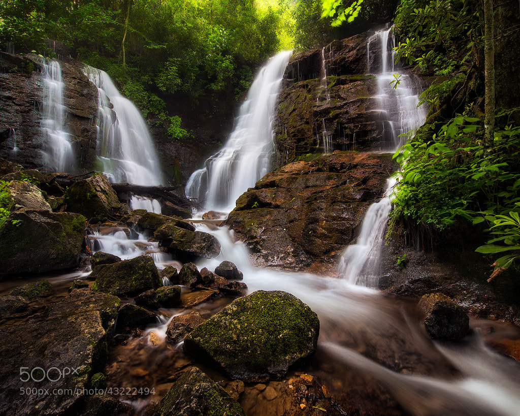 Photograph Soco Falls by Steve Perry on 500px