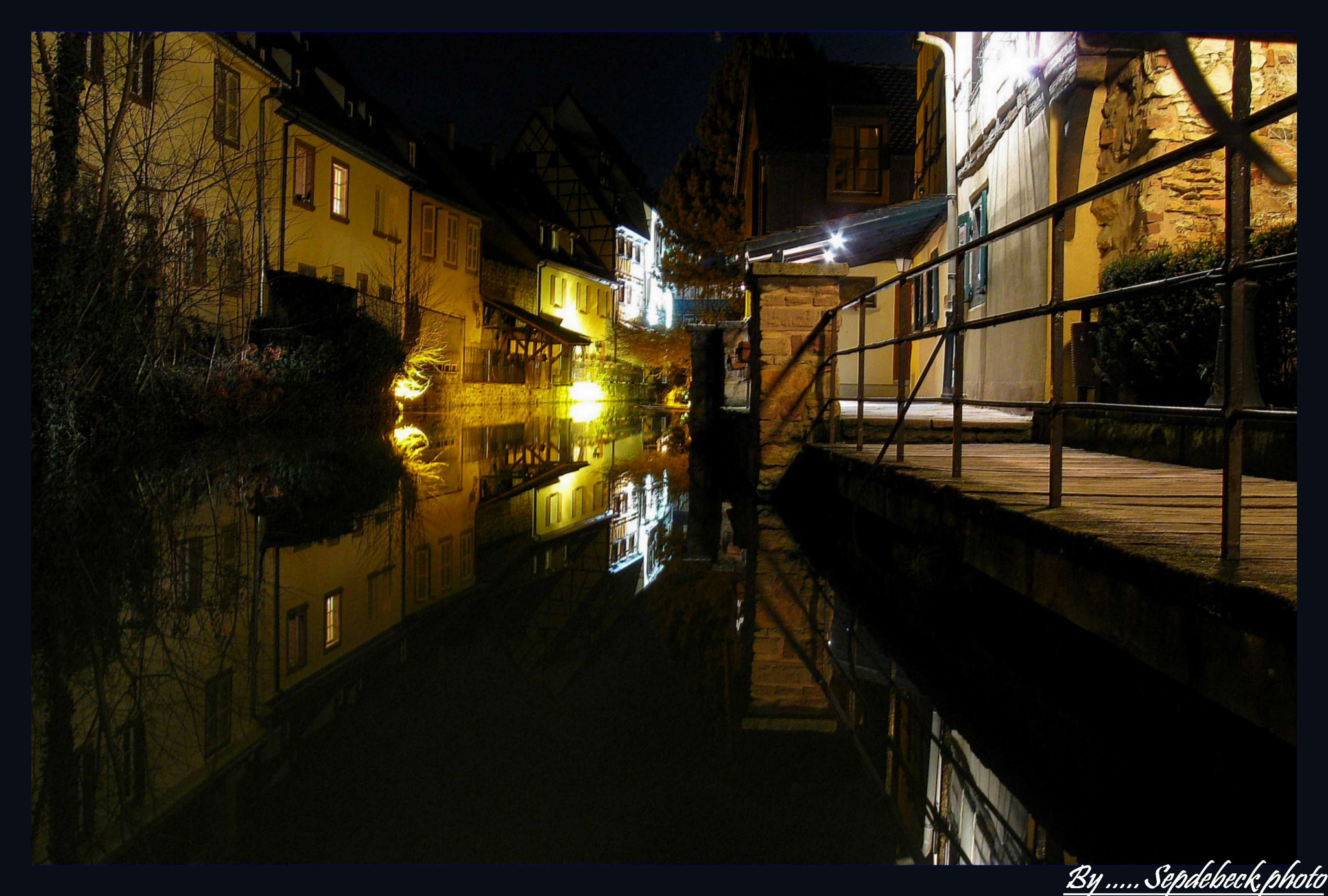 Photograph Petite Venise COLMAR by Night by Joseph Muller on 500px