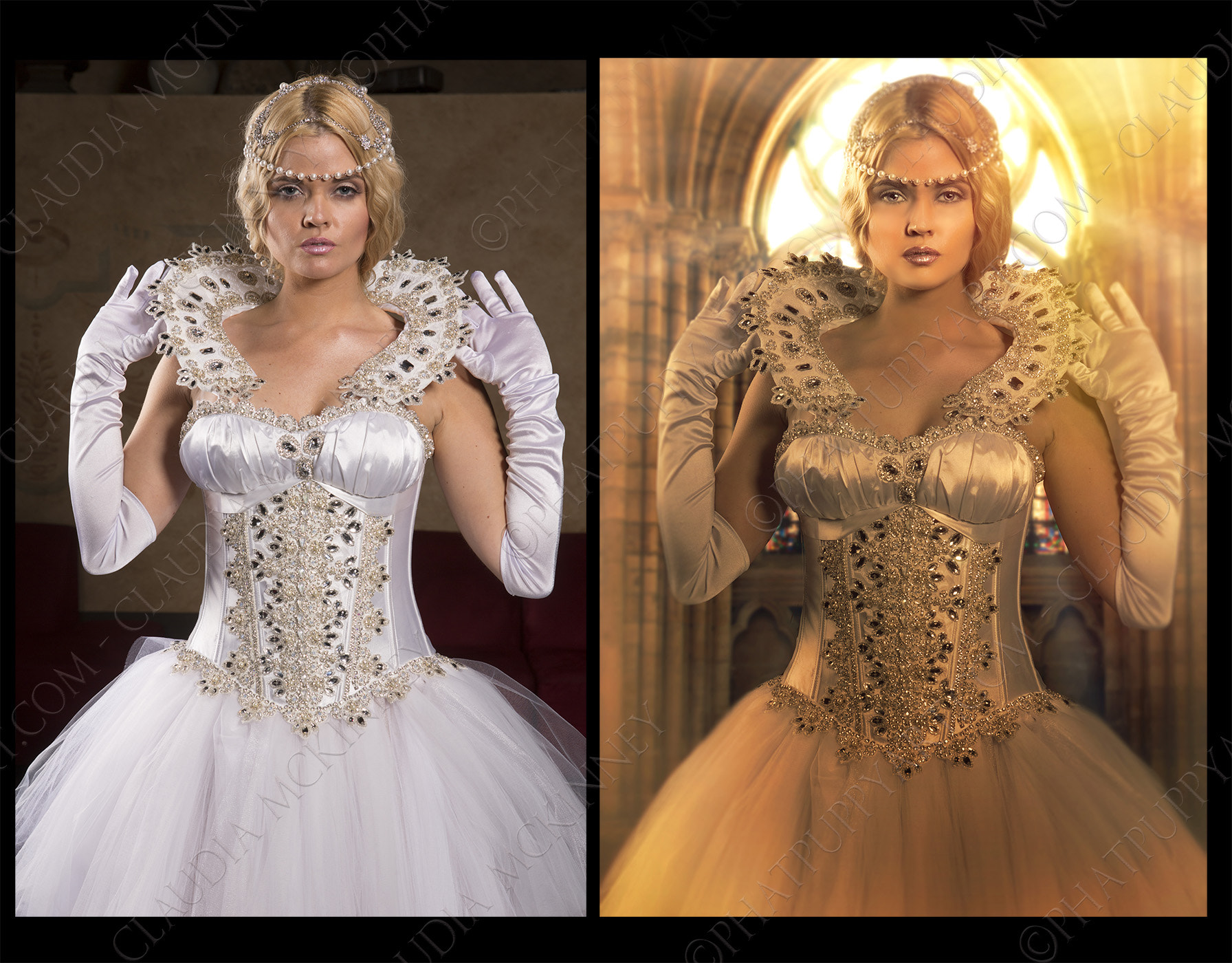 Photograph Before and After Cersei by Phatpuppy Art on 500px