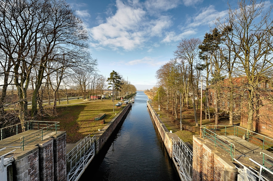 Photograph Old-Water Canal Road to Gdansk by Mirek  . on 500px