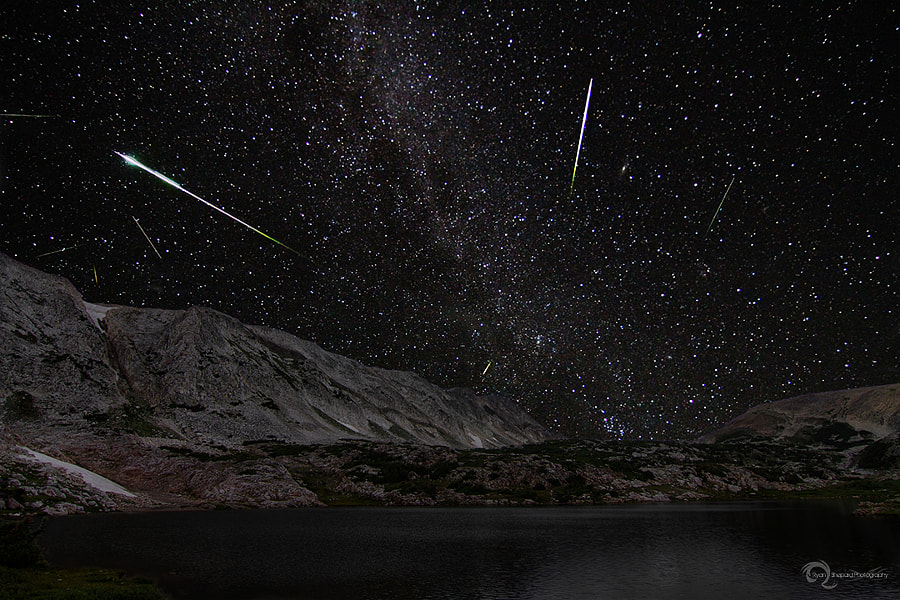 Medicine Bow Perseids by Ryan Shepard on 500px.com
