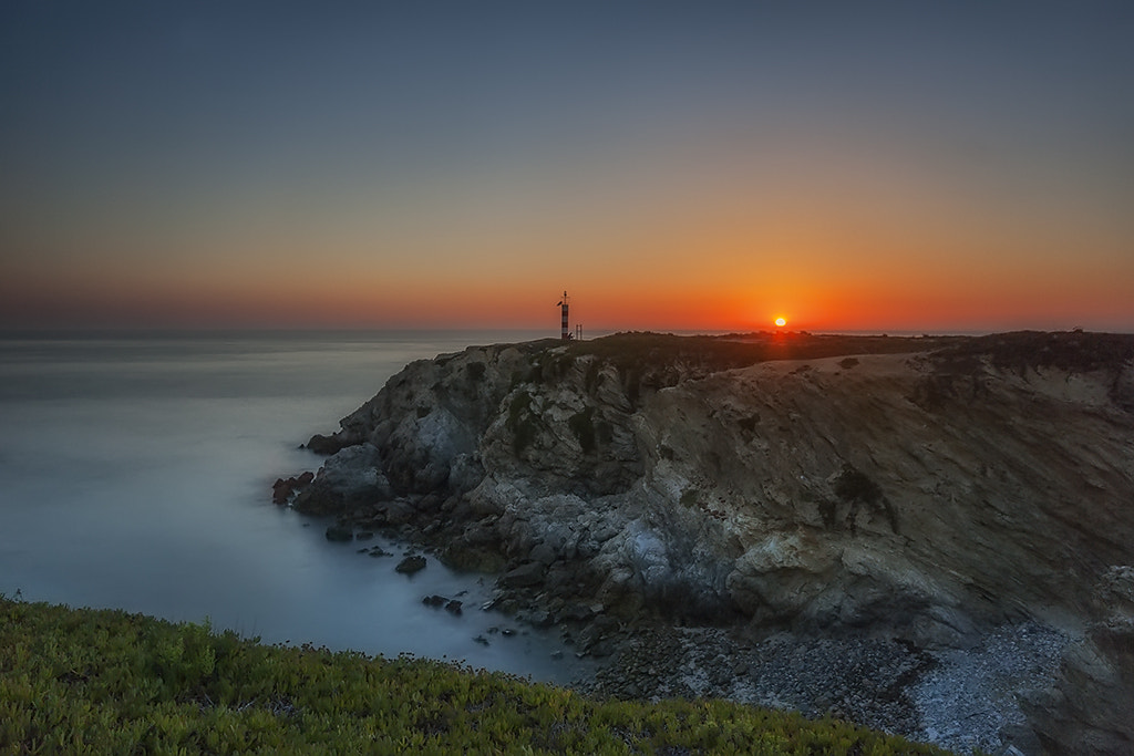Photograph Sunset at Porto Covo by Wolf Crust on 500px
