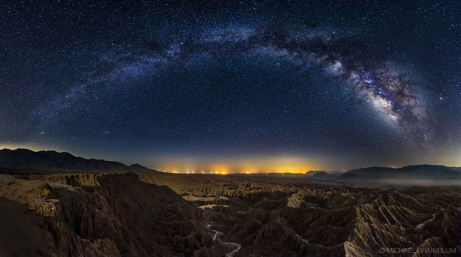 Photograph Galactic Badlands by Michael Shainblum on 500px
