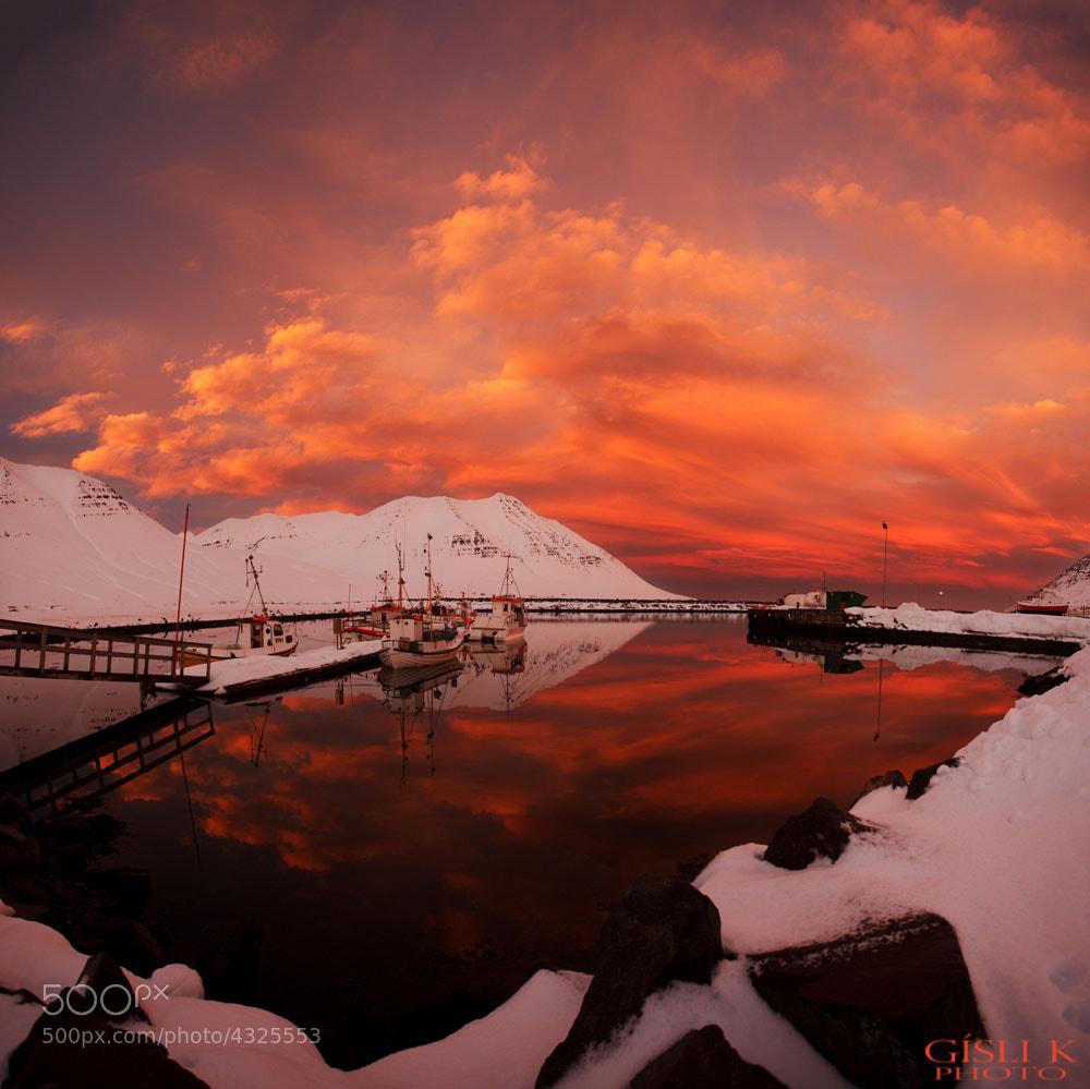 Photograph Harbour by Gisli Kristinsson on 500px