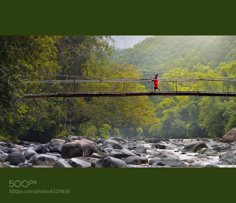 Photograph Crossing The Bridge by yoga pratama on 500px