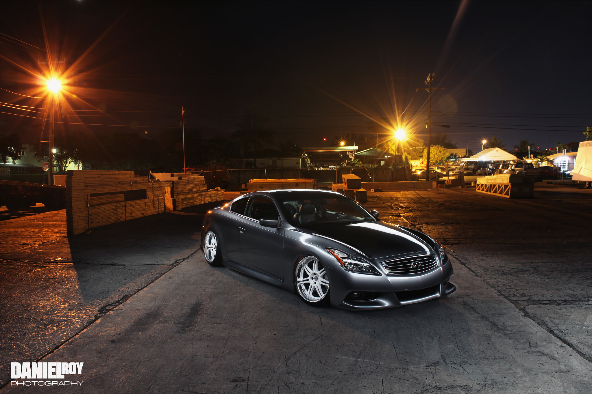 Photograph Infiniti G37 WoodWard by Daniel Roy on 500px