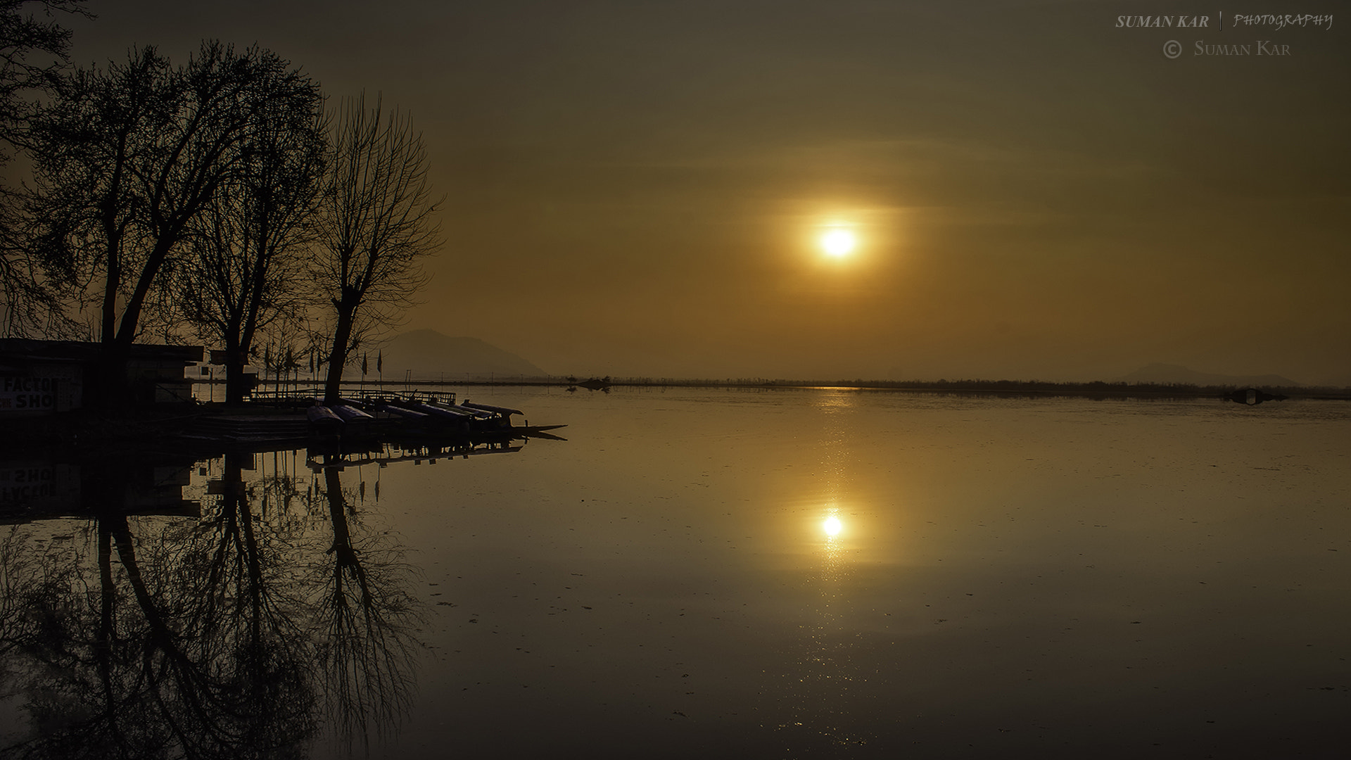 Photograph Tranquillity of sunset by Suman Kar on 500px