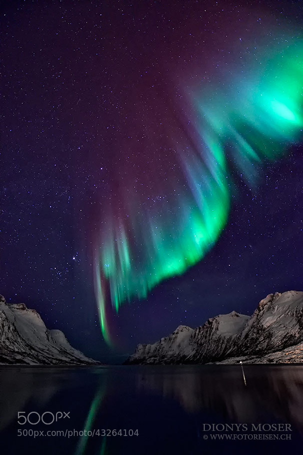 Photograph Aurora colors by Dionys Moser on 500px