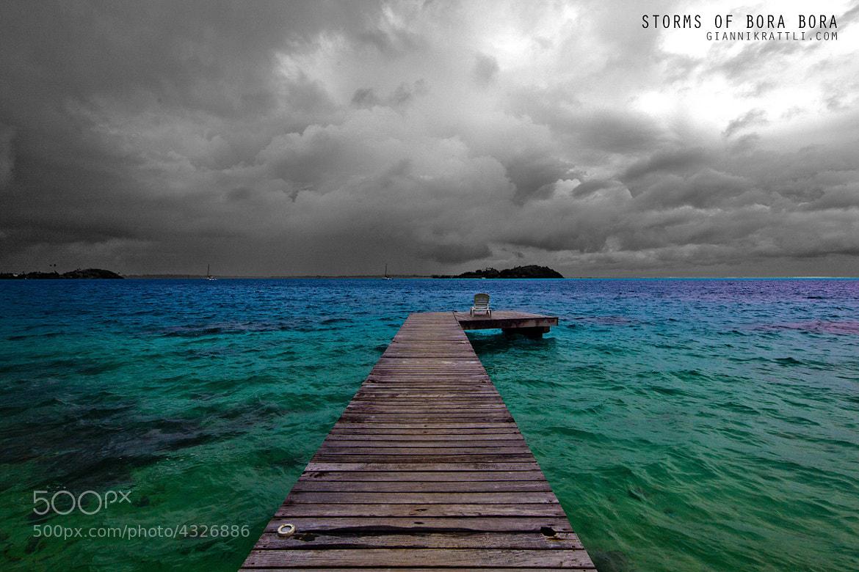 Photograph Storms Of Bora Bora By Gianni Krattli On 500px