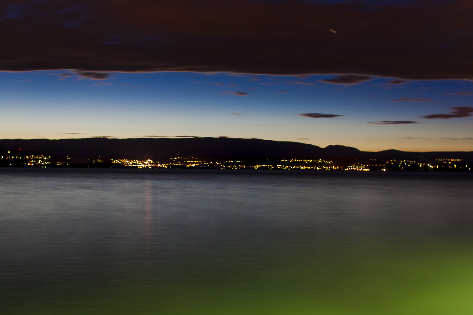 Photograph Genfersee at Nigh by d. vux on 500px