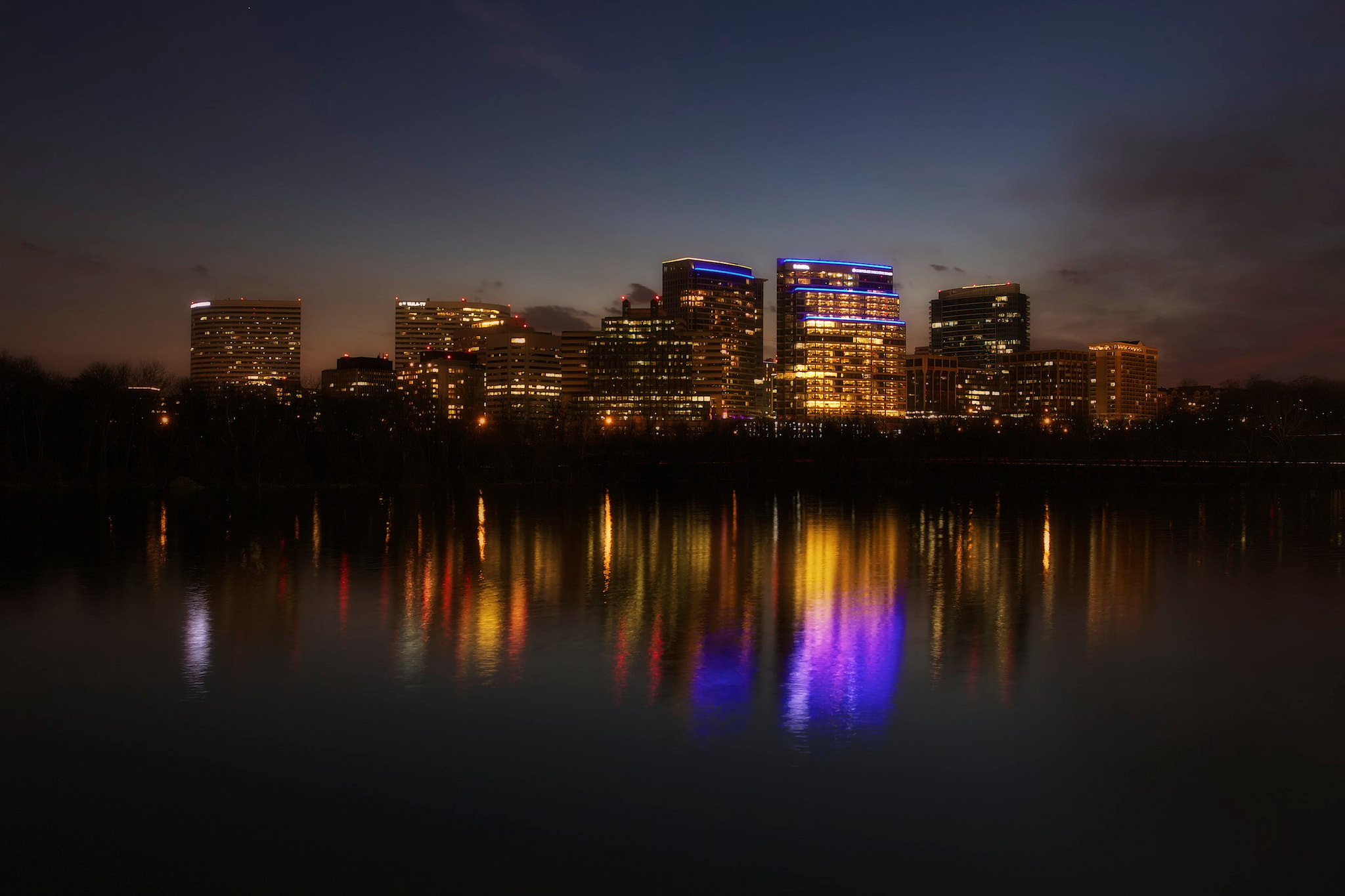 Photograph Rosslyn Skyline by Logan Brown on 500px