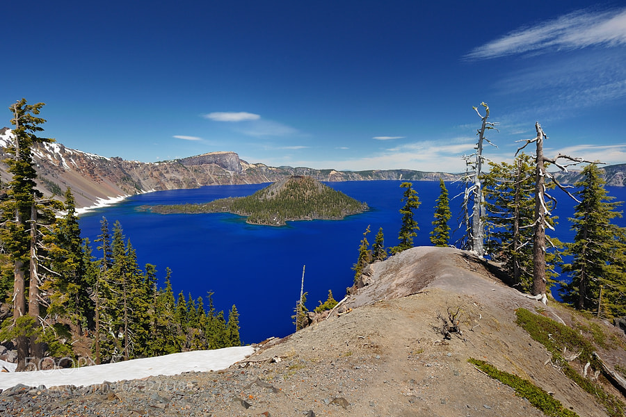 Photograph Crater Lake by Jimmy De Taeye on 500px