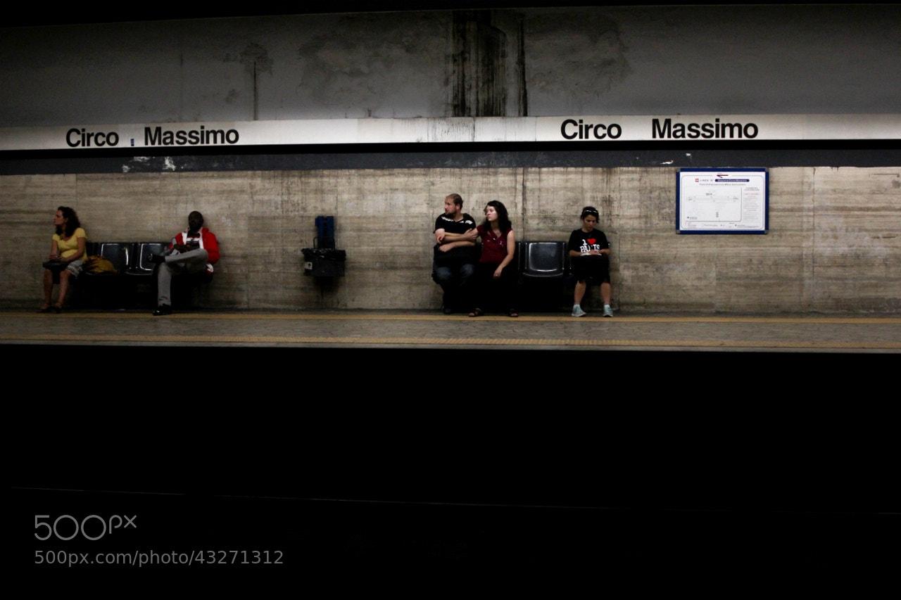 Photograph Waiting, Rome by Sophia Knapp on 500px